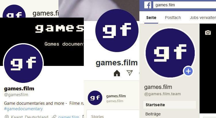 games.film social media channels