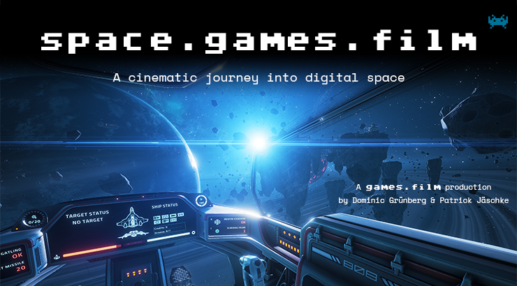 space.games.film Poster englisch