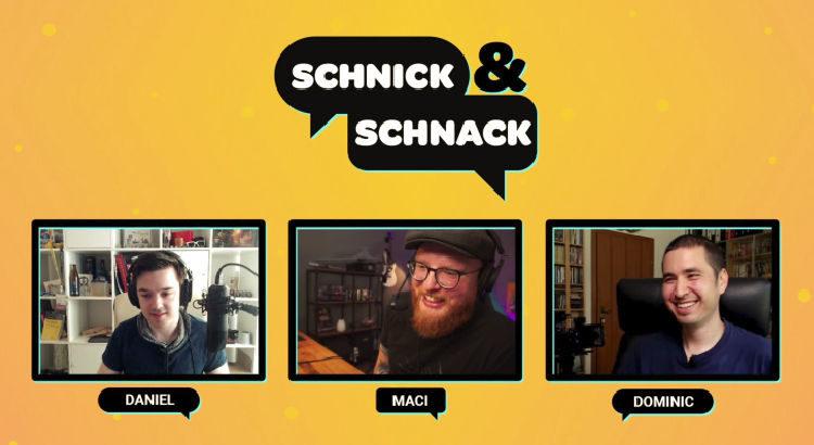 Schnick & Schnack Podcast Nerdstar TV